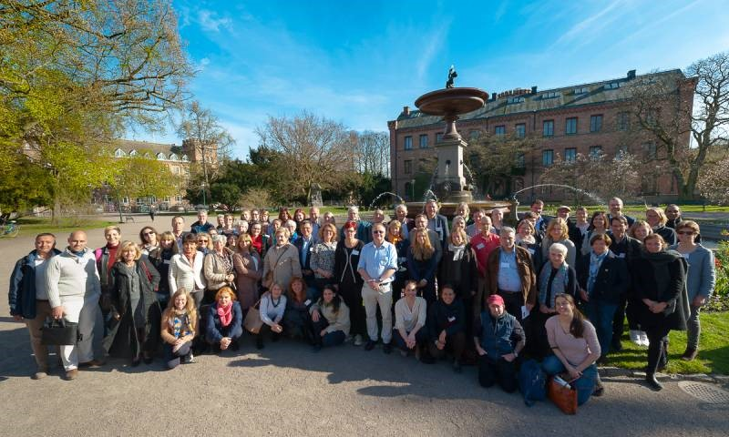group photograph from the 19th Pancare meeting which was held in Lund in May 2017